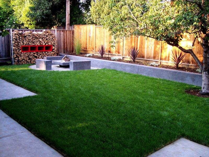 Image of: small backyard designs on a budget