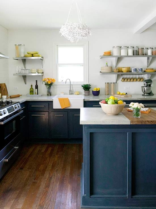 Image of: small cape cod kitchen makeover
