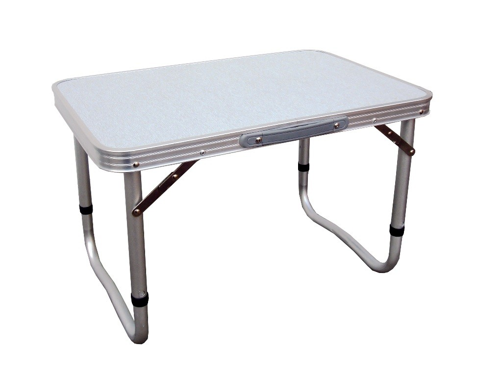 Image of: small folding camp table