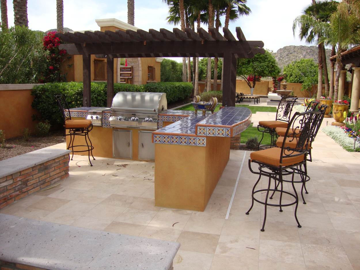 Image of: small outdoor bar designs