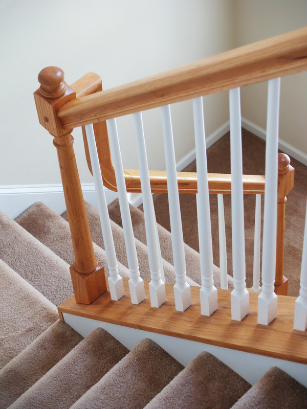 Image of: staircase balustrade images