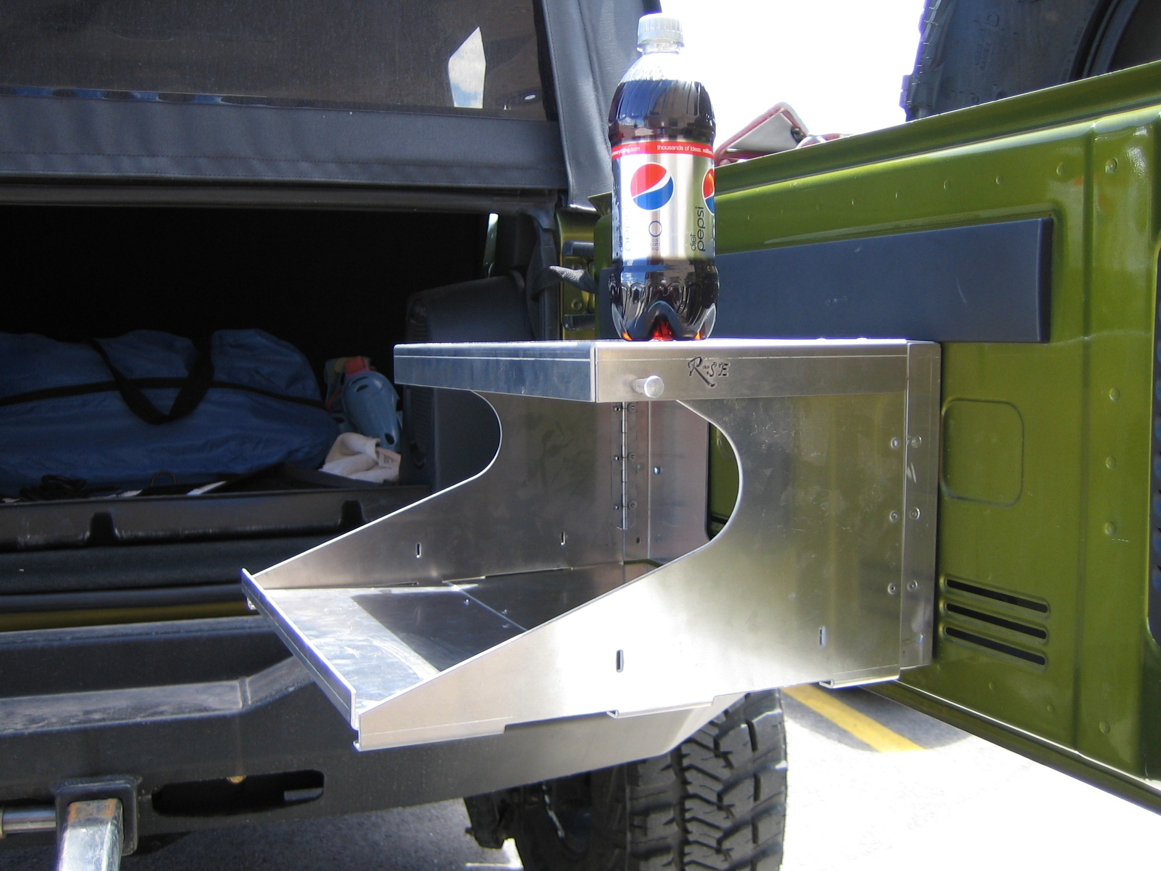 Image of: tailgating tables