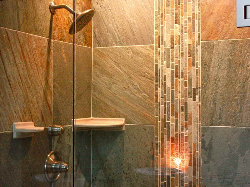 Image of: tile designs for shower