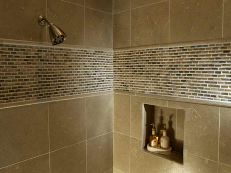 Image of: tile designs for showers