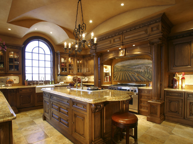 Image of: traditional kitchen designs ideas