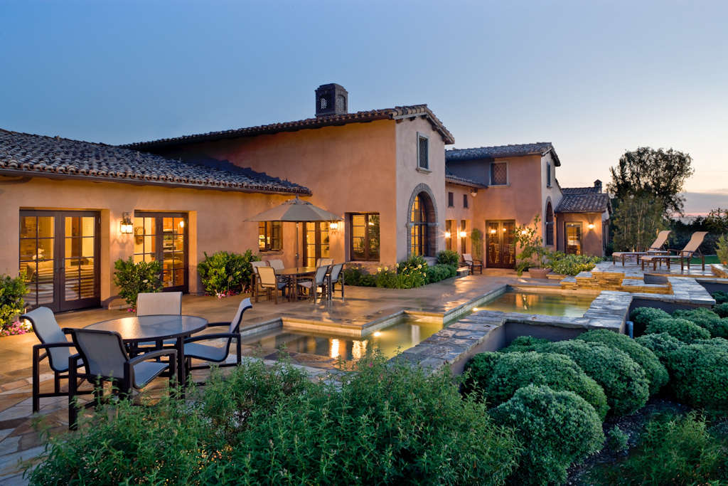 Image of: tuscan architecture design