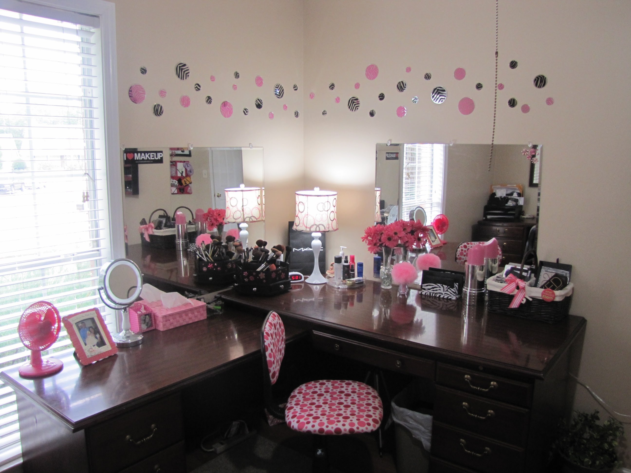 Image of: vanity table mirror