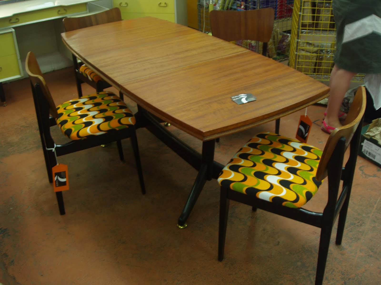 Vintage Formica Kitchen Table Icmt Set Vintage Formica Table For Kitchen And Dining Room