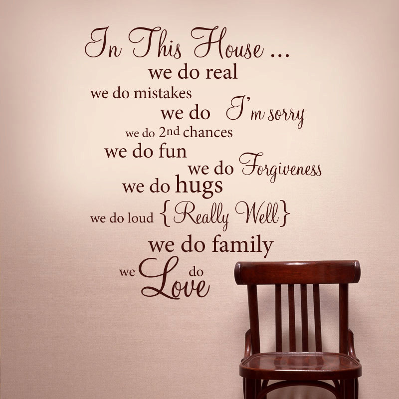 Image of: vinyl wall art and quotes