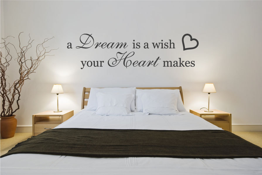 vinyl wall art bedroom