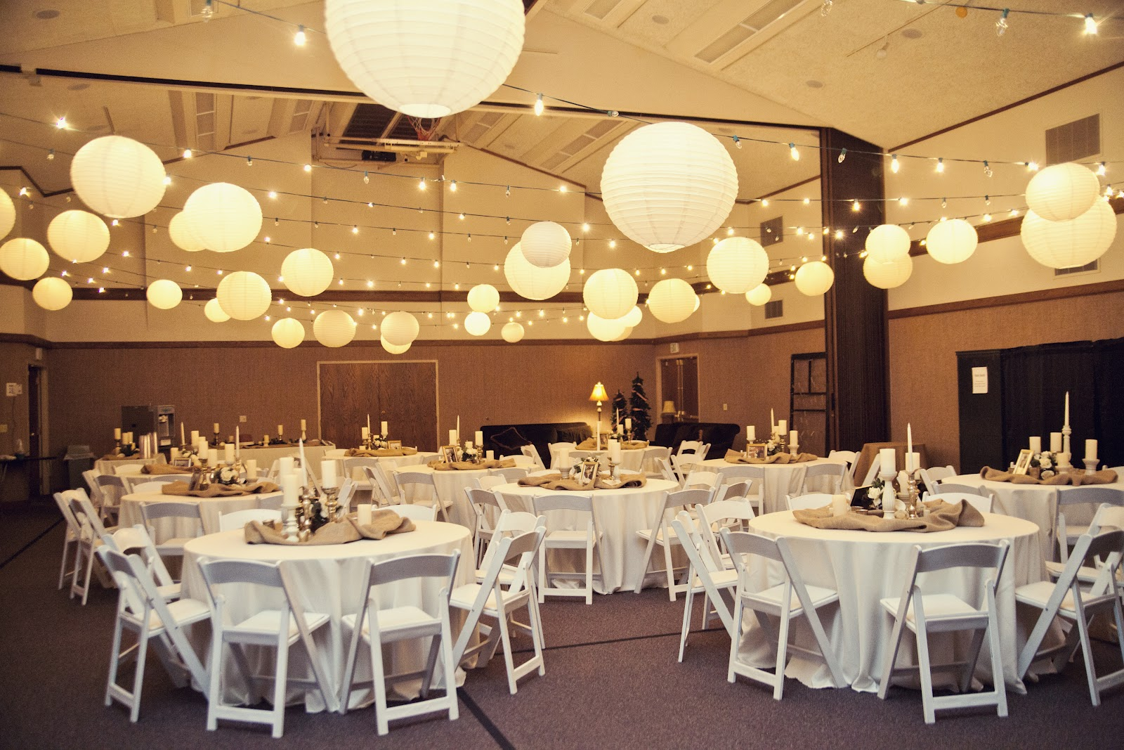 Image of: wedding reception and decorations