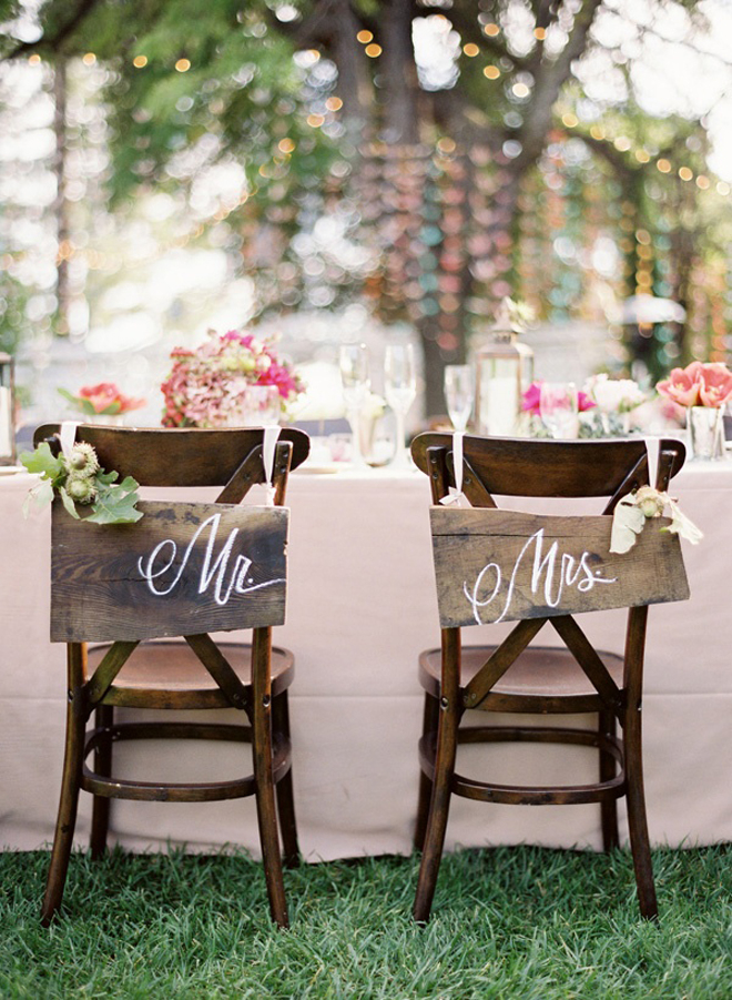 Image of: wedding reception chairs decor ideas