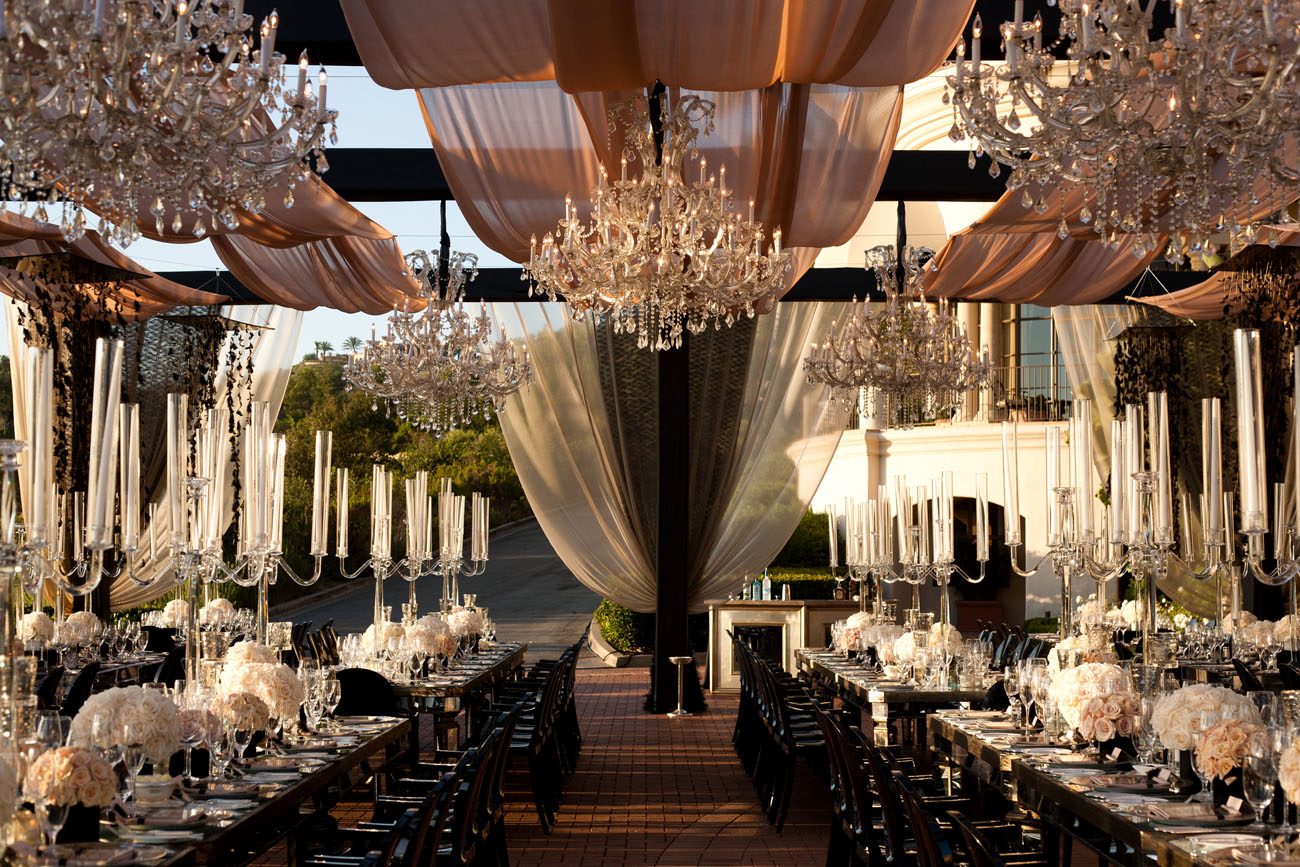 Image of: wedding reception decor at home