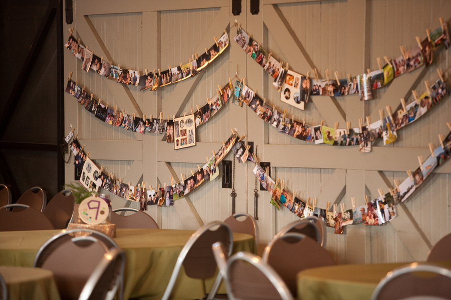 Image of: wedding reception decor diy