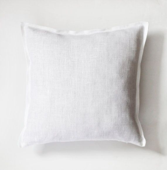 Image of: white decorative pillow covers