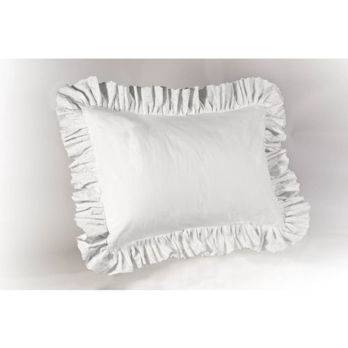 Image of: white decorative pillow shams