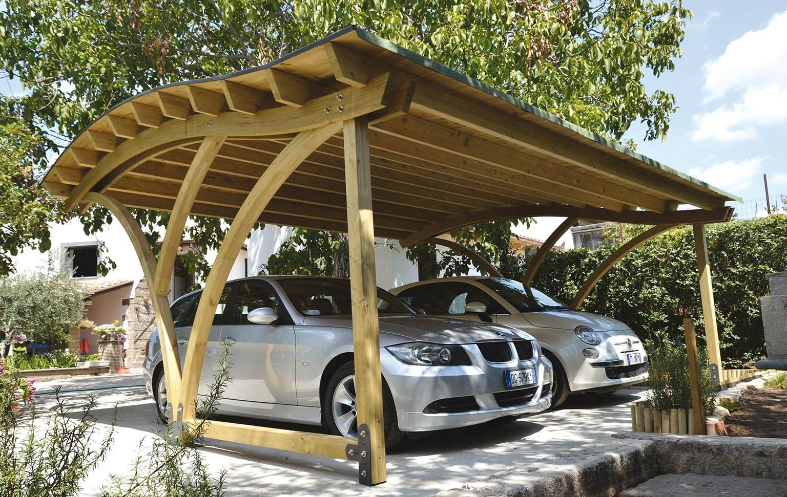 wood carport designs